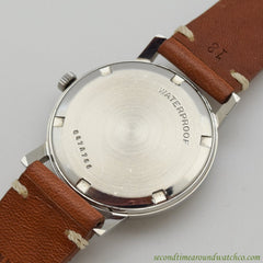 1960's Vintage Zenith Stainless Steel Watch