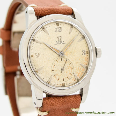 1951 Vintage Omega Ref. 2576-12 Stainless Steel Watch