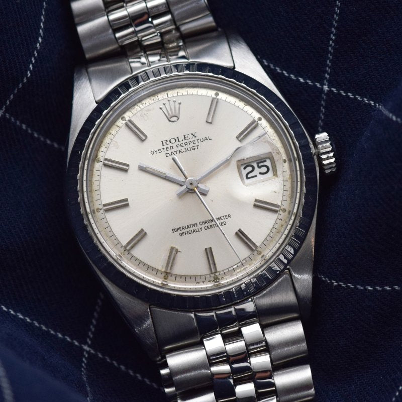 1968 Vintage Rolex Datejust Reference 1600 Stainless Steel Watch