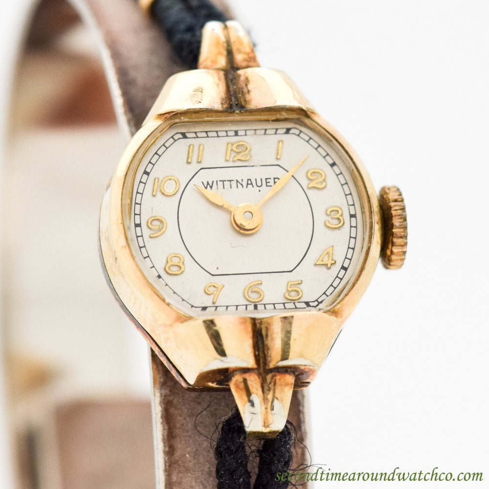 1950's Vintage Wittnauer Ladies 10k Yellow Gold Filled Watch