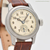 1947 Vintage Bulova Military Post-WWII Stainless Steel Watch