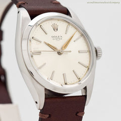 1965 Vintage Rolex Oyster Ref. 6426/6427 Stainless Steel Watch