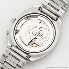1971 Vintage Wittnauer Calendar 2001/W102 Stainless Steel Watch