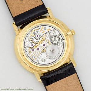 1968 Vintage Vacheron Constantin Ultra-Thin Patrimony Ref. 6872 18K Yellow Gold Watch