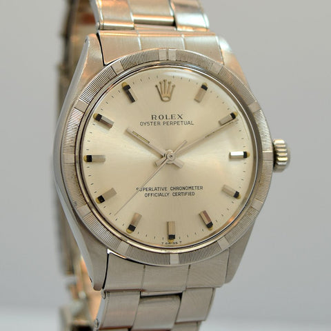1969 Rolex Oyster Perpetual Stainless Steel Ref. 1007
