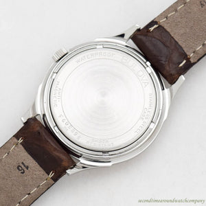 1968 Vintage Bulova M8 Stainless Steel Watch