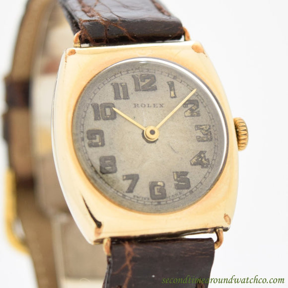 1934 Men's Vintage Rolex  14k Yellow Gold Filled (# 11016)