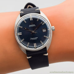 1970 Vintage Omega Seamaster Cosmic Ref. 166.026 Stainless Steel Watch
