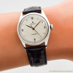 1958 Vintage Rolex Oyster Perpetual Ref. 6106 Stainless Steel Watch