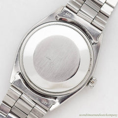 1961 Vintage Rolex Oyster Perpetual Ref. 1007 Stainless Steel Watch