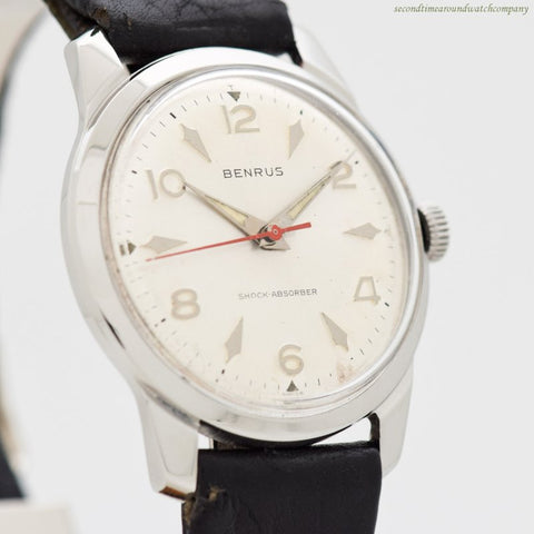 1960's Vintage Benrus Ref. 3061 Stainless Steel Watch