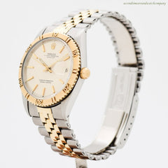 1968 Vintage Rolex Thunderbird Datejust Ref. 1625 14K Yellow Gold & Stainless Steel Watch