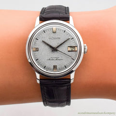1960's Vintage Jaeger LeCoultre Master Mariner Ref. 3057-883 Stainless Steel Watch