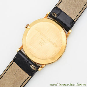 1980's Vintage Girard Perregaux 18k Yellow Gold Watch
