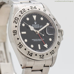 1995 Rolex Explorer II Reference 16570 Stainless Steel Watch