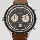 1968 Vintage Breitling Chrono-matic Ref. Ref. 7651 DDE. BR. + 11525/67 Stainless Steel Watch