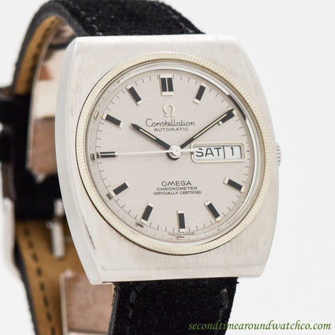 1969 Vintage Omega Constellation Ref. 168.041 Stainless Steel Watch