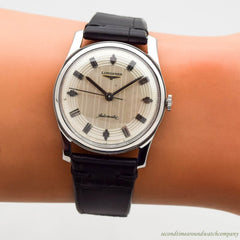 1961 Vintage Longines Automatic Stainless Steel Watch