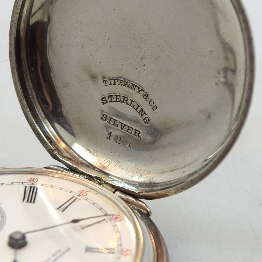 1900's Tiffany & Co. Pocket Watch Sterling Silver