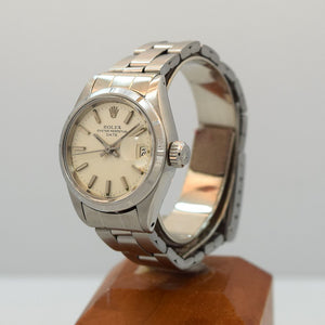 1972 Rolex Date Ladies Automatic Stainless Steel Ref. 6919