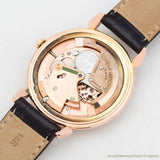 1950 Vintage Omega Jumbo Ref. 2482-1 18k Rose Gold Plated Watch