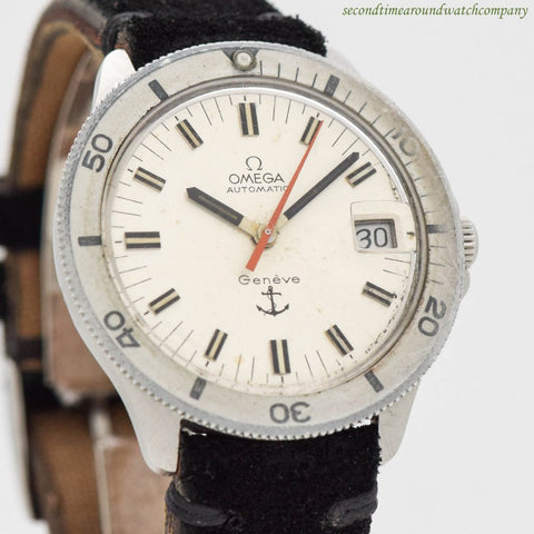 "1969 Vintage Omega ""Admirality"" Ref. 166.054 Stainless Steel Watch"
