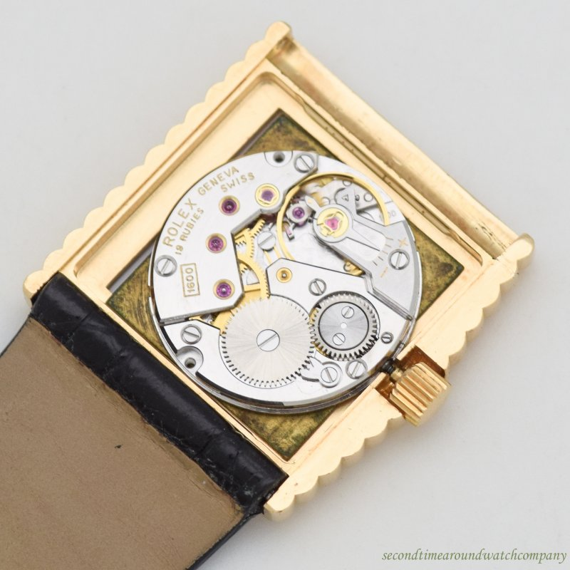 1973 Vintage Rolex King Midas Reference 4015 18k Yellow Gold Watch