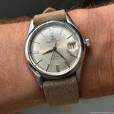 1964 Vintage Tudor Prince Oystedate Reference 7966 Stainless Steel Watch