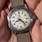 "1960's Zodiac Reference 691 ""Pre-Seawolf"" Stainless Steel Watch"