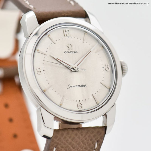 1957 Vintage Omega Seamaster Stainless Steel Watch
