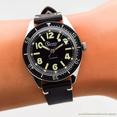1960's-70's Vintage Kaltron (Wakmann) Divers Stainless Steel Watch