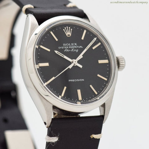 1969 Vintage Rolex Air-King Ref. 5500 Stainless Steel Watch