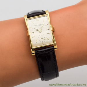 1947 Vintage Vacheron Constantin Ref. 4591 18K Yellow Gold Watch