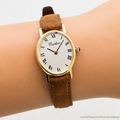 1960's era Cartier 18k Yellow Gold Watch