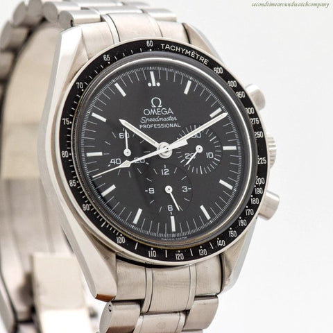1999 Omega Speedmaster Professional Moon Ref. 145.0022/345.0022 Stainless Steel Watch