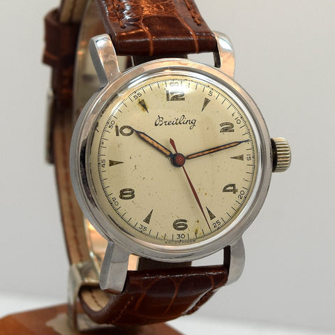 1945 Breitling Stainless Steel Watch