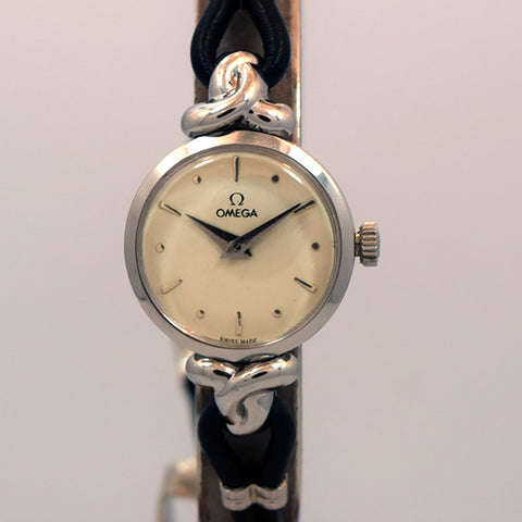 1949 Omega Ladies Ref. 2509-3 Stainless Steel