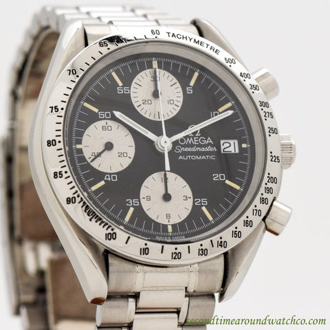 1991 Omega Speedmaster Automatic Ref. 175.0043/345.0043 Stainless Steel Watch