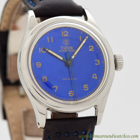 1963 Vintage Tudor By Rolex Oyster Ref. 4463 Stainless Steel Watch