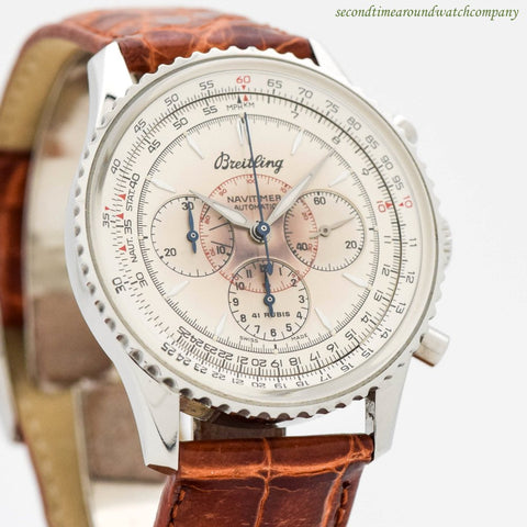 1997 Breitling Navitimer Montbrilliant Ref. A30030.2 Stainless Steel Watch
