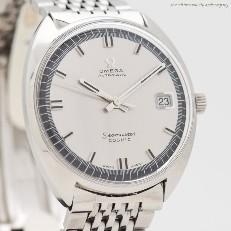 1968 Vintage Omega Seamaster Cosmic Ref. 166.026 Stainless Steel Watch