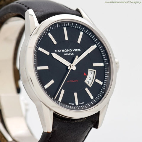 2010's Raymond Weil Freelancer Automatic Stainless Steel Watch