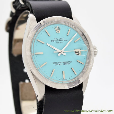 1965 Vintage Rolex Date Automatic Ref. 1501 Stainless Steel Watch