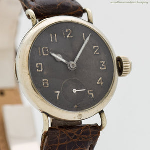 1918 Vintage Elgin Nickle Watch