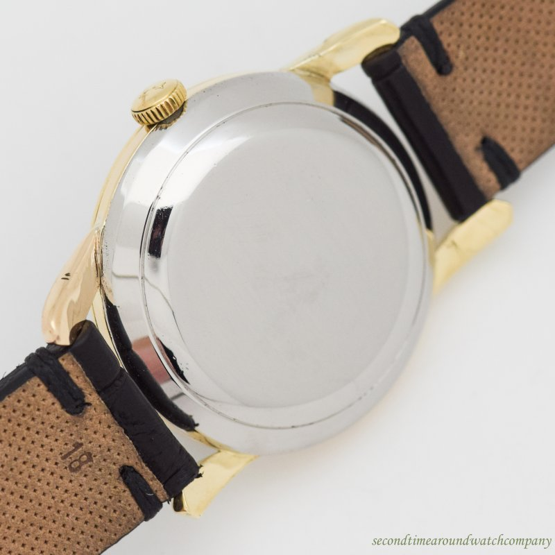1951 Vintage International Watch Co. Automatic 18k Yellow Gold & Stainless Steel Watch