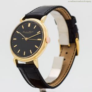 1948 Vintage International Watch Co. 18k Yellow Gold Watch