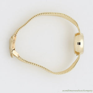 1969 Vintage Omega Ladymatic 14k Yellow Gold Watch