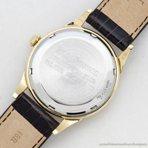 1957 Vintage Eterna Eterna-matic 10k Yellow Gold Filled Watch