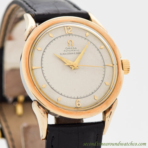 1949 Vintage Omega Automatic Ref. 2597-2 14K Yellow Gold Filled Watch