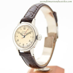1960's Vintage Girard Perregaux Ladies Stainless Steel Watch